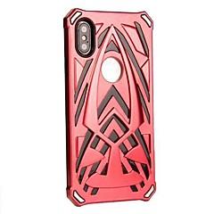 Недорогие Кейсы для iPhone 6-Кейс для Назначение Apple iPhone X / iPhone 8 Plus Защита от удара Кейс на заднюю панель броня Твердый ПК для iPhone X / iPhone 8 Pluss /