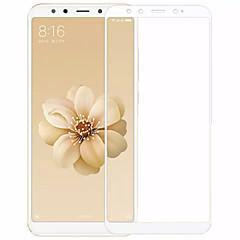 Недорогие Защитные плёнки для экранов Xiaomi-Защитная плёнка для экрана для XIAOMI Xiaomi Mi 6X(Mi A2) Закаленное стекло 2 штs Защитная пленка на всё устройство Защита от царапин