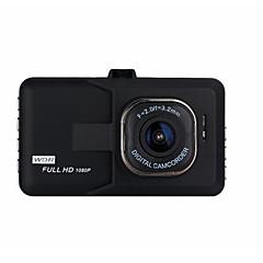 preiswerte Autozubehör-1080p Nachtsicht Auto dvr 140 Grad Weiter Winkel 3 Zoll Autokamera mit Bewegungsmelder nein Auto-Recorder