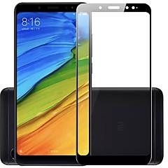 Недорогие Защитные плёнки для экранов Xiaomi-ASLING Защитная плёнка для экрана для XIAOMI Xiaomi Redmi Примечание 5 Закаленное стекло 1 ед. Защитная пленка на всё устройство Уровень защиты 9H / 2.5D закругленные углы / Защита от царапин