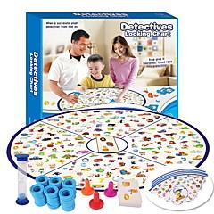 abordables Juegos de Mesa-Juegos de Mesa Detectives mirando la tabla Interacción padre-hijo 1pcs Adultos / Adolescente