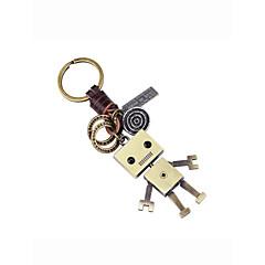 お買い得  キーホルダー-キーチェーン ゴールド 不規則な アンティーク銅 カトゥーン, かわいい 用途 贈り物 / 日常
