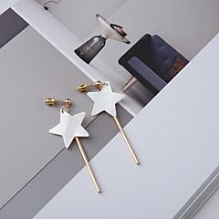 preiswerte Ohrringe-Tropfen-Ohrringe - Hülle Stern Einfach, Koreanisch, Modisch Weiß Für Alltag
