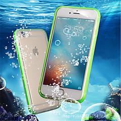 billige iPhone 6 Plus Plus-etuier-Etui Til Apple iPhone 8 Plus / iPhone 7 Stødsikker / Vandtæt / Transparent Fuldt etui Ensfarvet Blødt TPU for iPhone 8 Plus / iPhone 8 /