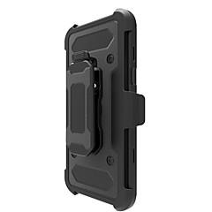 Недорогие Чехлы и кейсы для Motorola-Кейс для Назначение Motorola G5 Plus E4 Plus Защита от удара со стендом броня Кейс на заднюю панель броня Твердый ПК для Мото G5 Plus