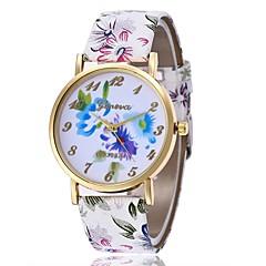 お買い得  レディース腕時計-女性用 ドレスウォッチ 中国 クロノグラフ付き PU バンド クリエイティブ / ファッション ブラウン