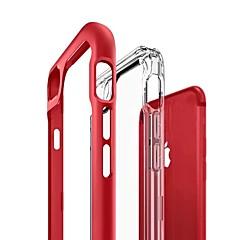 Недорогие Кейсы для iPhone 7-Кейс для Назначение Apple iPhone X / iPhone 8 Полупрозрачный Кейс на заднюю панель Однотонный Твердый Акрил для iPhone X / iPhone 8 Pluss