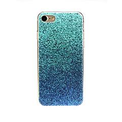 Недорогие Кейсы для iPhone 7-Кейс для Назначение Apple iPhone X / iPhone 7 Ультратонкий / С узором / Милый Кейс на заднюю панель Градиент цвета Мягкий ТПУ для iPhone X / iPhone 8 Pluss / iPhone 8
