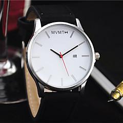 preiswerte Damenuhren-Herrn / Damen Armbanduhr Chinesisch Kalender / Armbanduhren für den Alltag PU Band Modisch / Minimalistisch Schwarz / Braun
