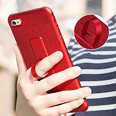 Недорогие Кейсы для iPhone X-Кейс для Назначение Apple iPhone X / iPhone 8 со стендом Кейс на заднюю панель Однотонный Мягкий ТПУ для iPhone X / iPhone 8 Pluss / iPhone 8