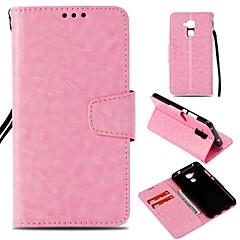 halpa Huawei kotelot / kuoret-Etui Käyttötarkoitus Huawei Honor 7X Korttikotelo Lomapkko Magneetti Suojakuori Yhtenäinen Kova PU-nahka varten Honor 7C(Enjoy 8) Honor