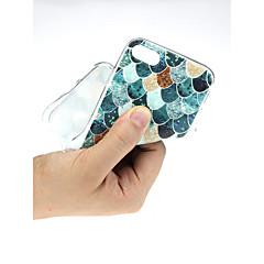 Недорогие Кейсы для iPhone 7 Plus-Кейс для Назначение Apple iPhone X / iPhone 7 Ультратонкий / С узором / Милый Кейс на заднюю панель Пейзаж Мягкий ТПУ для iPhone X / iPhone 8 Pluss / iPhone 8