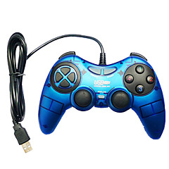 お買い得  PC ゲーム用アクセサリー-ケーブル ゲームコントローラ 用途 PC パータブル / バイブレーション ゲームコントローラ ABS 1pcs 単位 USB 2.0