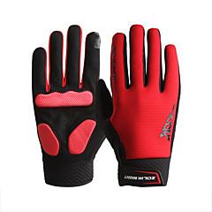 preiswerte Autozubehör-ZOLI Vollfinger Unisex Motorrad-Handschuhe Stoff Rasche Trocknung / Atmungsaktiv / Touchscreen
