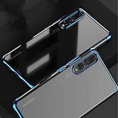 お買い得  タブレット用ケース-ケース 用途 Huawei MediaPad P20 / P20 Pro メッキ仕上げ / クリア バックカバー ソリッド ソフト TPU のために Huawei P20 / Huawei P20 Pro / Huawei P20 lite