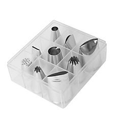 お買い得  ベイキング用品&ガジェット-ベークツール アルミ / ステンレス鋼 新参者 / 3D / DIY 日常使用 / 調理器具のための / アイデアキッチン用品 デザートツール 9点