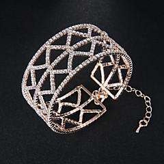 preiswerte Armbänder-Damen Armreife Manschetten-Armbänder - Europäisch, Modisch Armbänder Silber / Rotgold Für Hochzeit Alltag