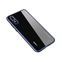 お買い得  Huawei Pシリーズケース/ カバー-ケース 用途 Huawei P20 / P20 Pro クリア バックカバー ソリッド ハード アクリル のために Huawei P20 / Huawei P20 Pro / Huawei P20 lite