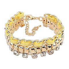 preiswerte Armbänder-Damen Ketten- & Glieder-Armbänder - Modisch, Elegant Armbänder Gelb / Rot / Blau Für Zeremonie / Verabredung
