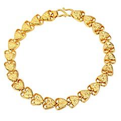 preiswerte Armbänder-Damen Seil Ketten- & Glieder-Armbänder - Herz Modisch Armbänder Gold / Silber Für Geschenk / Alltag