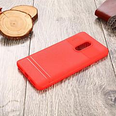 Недорогие Чехлы и кейсы для Xiaomi-Кейс для Назначение Xiaomi Redmi 5 Ультратонкий Кейс на заднюю панель Однотонный Мягкий ТПУ для Xiaomi Redmi 5