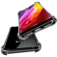 Недорогие Чехлы и кейсы для Xiaomi-Кейс для Назначение Xiaomi Redmi 5 Plus / Redmi 5 Защита от удара / Полупрозрачный Кейс на заднюю панель Однотонный Мягкий ТПУ для Xiaomi Redmi Note 4X / Redmi 5A / Xiaomi Redmi 5 Plus