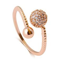 preiswerte Ringe-Damen Öffne den Ring - Aleación Klassisch, Retro, Modisch Verstellbar Gold / Silber / Rotgold Für Party / Geburtstag