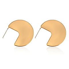 preiswerte Ohrringe-Damen Ohrstecker - S925 Sterling Silber damas Punk Europäisch Schmuck Gold / Silber Für Alltag Party Verabredung 1 Paar