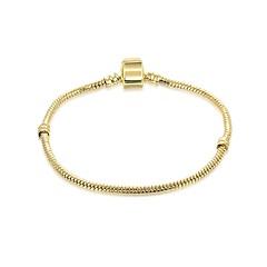 preiswerte Armbänder-Damen Armband - vergoldet Modisch Armbänder Gold / Weiß Für Geschenk / Alltag