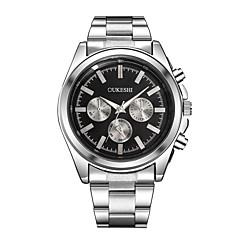 preiswerte Herrenuhren-Xu™ Herrn Kleideruhr / Armbanduhr Chinesisch Armbanduhren für den Alltag / Großes Ziffernblatt Legierung Band Modisch / Minimalistisch