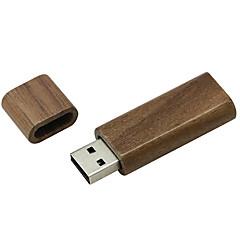 preiswerte USB Speicherkarten-Ants 8GB USB-Stick USB-Festplatte USB 2.0 Hölzern Quader Hüllen