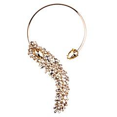 preiswerte Halsketten-Damen Kristall Nicht übereinstimmend Halsketten / Statement Ketten / Y Halskette - Alphabet Form Anhänger Stil, Böhmische, Modisch Blau, Rosa, Hellblau 33 cm Modische Halsketten Schmuck 1pc Für