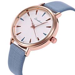 preiswerte Damenuhren-Damen Armbanduhr Armbanduhren für den Alltag / lieblich PU Band Modisch / Elegant Schwarz / Weiß / Lila