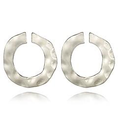 preiswerte Ohrringe-Damen Ohrstecker / Kreolen - Bühnenlicht vielfarbig Rockig, Modisch, überdimensional Gold / Silber Für Alltag / Geburtstag