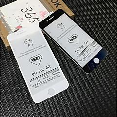 Недорогие Защитные пленки для iPhone 6s / 6 Plus-Защитная плёнка для экрана для Apple iPhone 6s Plus / iPhone 6s / iPhone 6 Plus Закаленное стекло 1 ед. Защитная пленка для экрана HD / Уровень защиты 9H / 3D закругленные углы