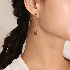 preiswerte Ohrringe-Damen Lang Tropfen-Ohrringe - Künstlerisch, Einfach, Süß Gold / Silber Für Alltag / Strasse