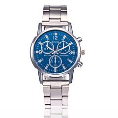 お買い得  メンズ腕時計-男性用 リストウォッチ 中国 カジュアルウォッチ 合金 バンド ファッション ブラック / 白
