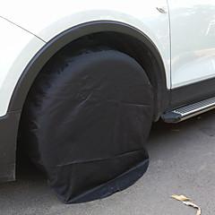 abordables Lonas para Coche-Cobertura completa Cubiertas de neumáticos de repuesto Tejido de Oxford Para Universal Motores generales Todos los Años para Todas las Temporadas