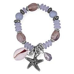 preiswerte Armbänder-Damen Glasperlen Strang-Armbänder - Stern Retro, Ethnisch, Modisch Armbänder Schwarz / Rot / Blau Für Party / Zeremonie