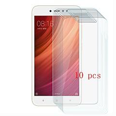 Недорогие Защитные плёнки для экранов Xiaomi-Защитная плёнка для экрана для XIAOMI Redmi Note 5A Закаленное стекло 10 ед. Защитная пленка для экрана Уровень защиты 9H / Защита от царапин