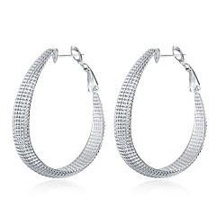 preiswerte Ohrringe-Damen Tropfen-Ohrringe - versilbert Modisch Silber Für Alltag