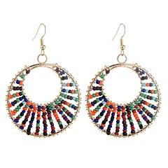 abordables Pendientes-Mujer Largo Pendientes colgantes - Vintage, Étnico, Moda Arco Iris Para Fiesta / Noche / Noche