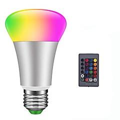 preiswerte LED-Birnen-1pc 10 W 900 lm E26 / E27 LED Kugelbirnen / Smart LED Glühlampen 6 LED-Perlen SMD 5050 Smart / Abblendbar / Ferngesteuert RGBW 85-265 V