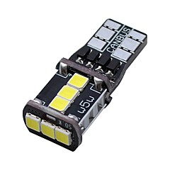 Недорогие Дневные фары-SO.K 2pcs T10 Автомобиль Лампы 3 W SMD 3030 400 lm 9 Светодиодная лампа Фары дневного света For Универсальный Все года
