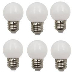 お買い得  LED 電球-6本 2 W 80 lm E26 / E27 LEDボール型電球 G45 8 LEDビーズ SMD 2835 装飾用 温白色 / クールホワイト 220-240 V