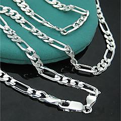 preiswerte Halsketten-Damen Quaste / Stilvoll Ketten - Kreativ Punk, Hyperbel, Modisch Silber 46 cm Modische Halsketten 1pc Für Klub, Bar