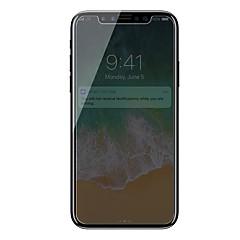 Недорогие Защитные пленки для iPhone X-Защитная плёнка для экрана для Apple iPhone X Закаленное стекло 1 ед. Защитная пленка для экрана Anti-Spy