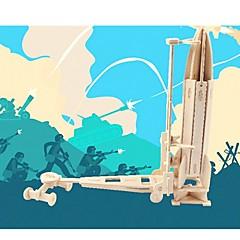 abordables Puzzles 3D-Puzzles de Madera / Puzles y juguetes de lógica Arma Colegio / Nivel profesional / Alivio del estrés y la ansiedad De madera 1 pcs Niños / Juventud Todo Regalo