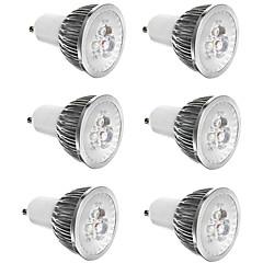 preiswerte LED-Birnen-6pcs 3 W 300 lm E14 / GU10 / GU5.3 LED Spot Lampen 3 LED-Perlen Hochleistungs - LED Dekorativ Warmes Weiß / Kühles Weiß 85-265 V