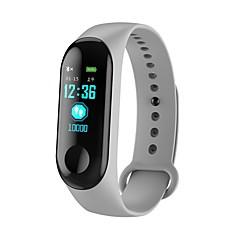 abordables Tech & Gadgets-KUPENG M3C Pulsera inteligente Android iOS Bluetooth Deportes Impermeable Monitor de Pulso Cardiaco Medición de la Presión Sanguínea Pantalla Táctil Podómetro Recordatorio de Llamadas Seguimiento de